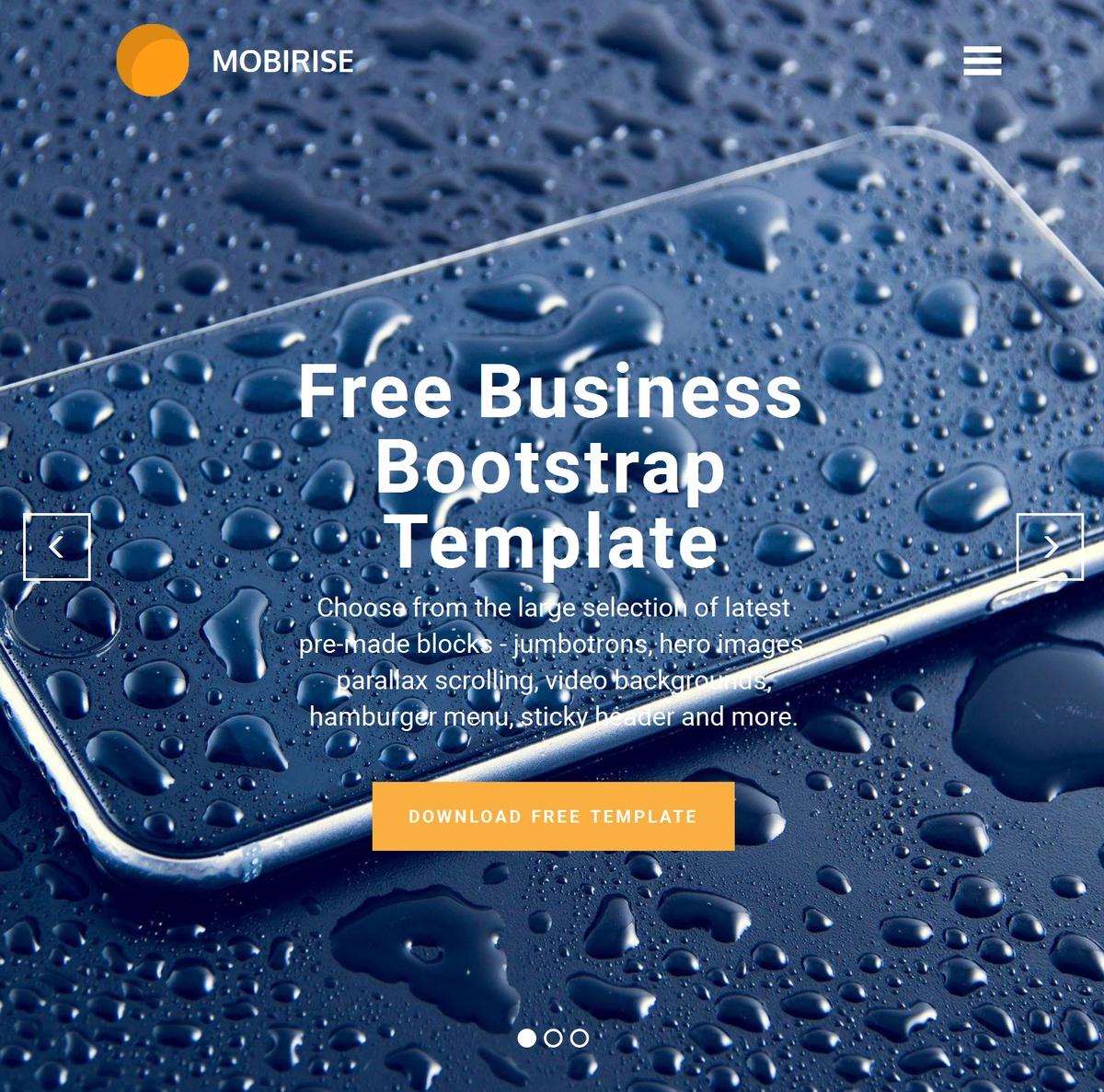 HTML Responsive Web Templates Themes Extensions